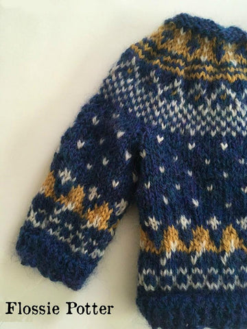 Starry Starry Night Cardigan Knitting Pattern