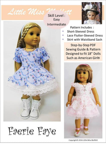 "Faerie Faye 18"" Doll Clothes"