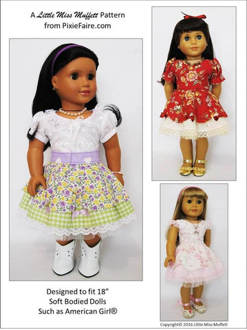 "Faerie Faye 18"" Doll Clothes Pattern"