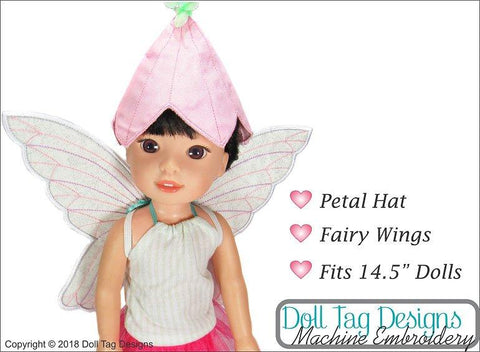 Fairy Dress Up Machine Embroidery Designs