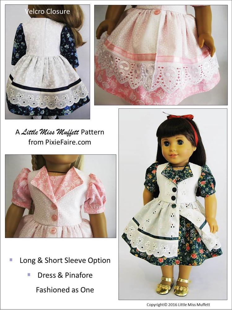 Little Miss Muffett Fairy Tale Fantasy Doll Clothes
