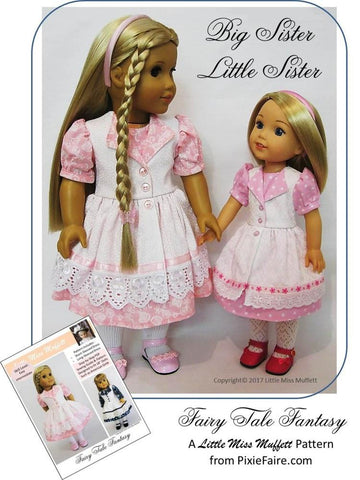 "Fairy Tale Fantasy 18"" Doll Clothes Pattern"