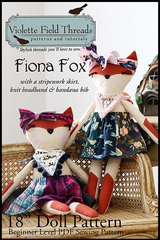 "Fiona Fox 18"" Animal Doll"