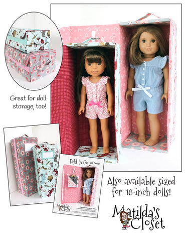 Fold 'n Go Doll Carrier for WellieWishers Dolls