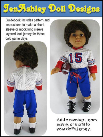 "Touchdown Football Uniform 18"" Doll Clothes"