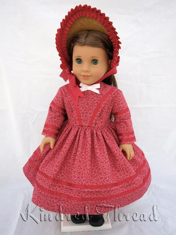 "French Quarter Day Dress 18"" Doll Clothes"