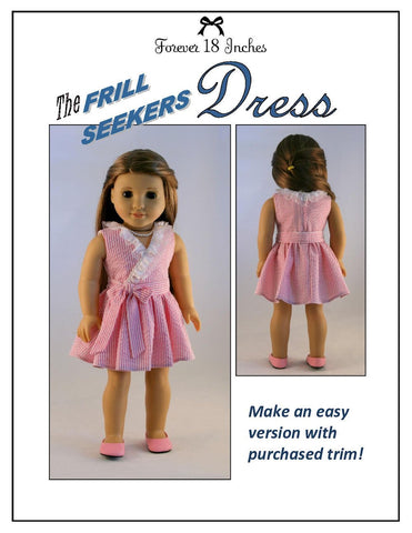 "Frill Seekers Dress 18"" Doll Clothes"