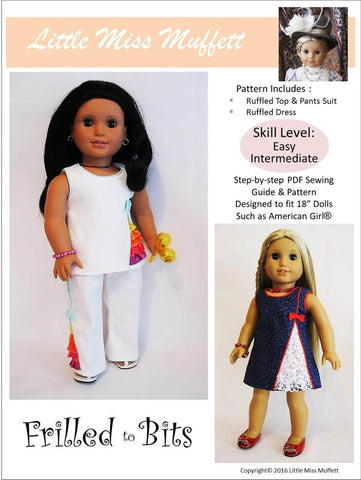 "Frilled To Bits 18"" Doll Clothes"