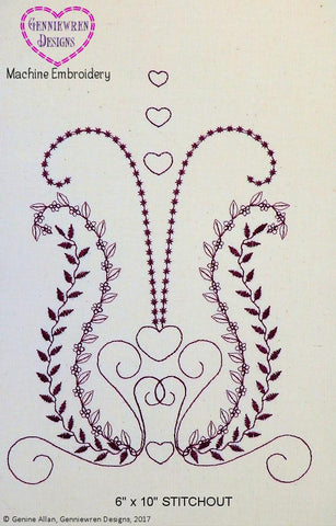 FREE  Meena Tunic Machine Embroidery Design