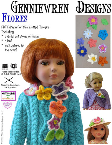 Flores Knitting Pattern