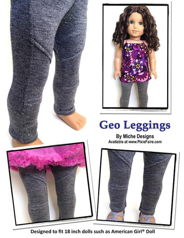 "Geo Leggings 18"" Doll Clothes"