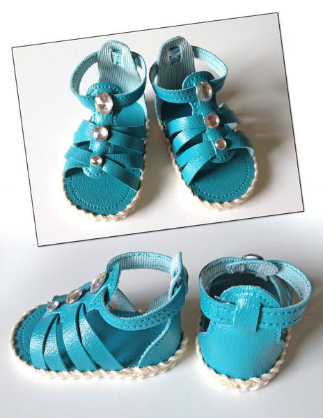 Gladiator Sandals 18 Inch Doll Shoes Pattern Pdf Download