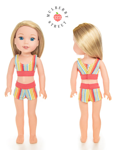 "Gotchies 14.5"" Doll Clothes Pattern"