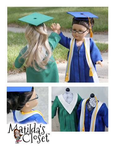 "Graduation Ensemble 18"" Doll Clothes"