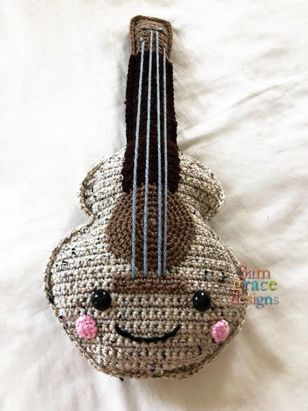 3amgracedesigns Guitar Kawaii Cuddler Amigurumi Pdf