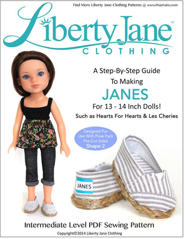 Liberty Jane H4H/Les Cheries JANES for Les Cheries and Hearts for Hearts Dolls Pixie Faire