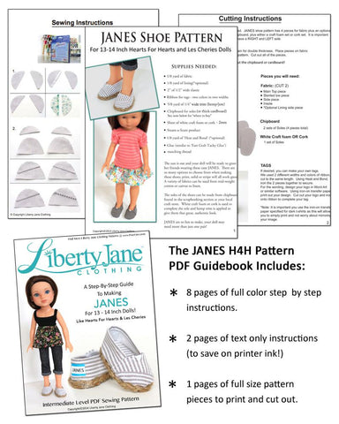 JANES for Les Cheries and Hearts for Hearts Dolls