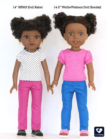 "Hearts For Hearts Girls Rahel From Ethiopia 14"" Doll"