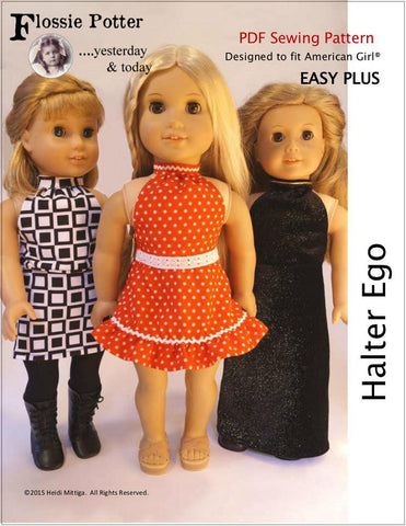 "Halter Ego 18"" Doll Clothes"