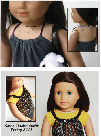 "Malibu Halter Top 18"" Doll Clothes Pattern"