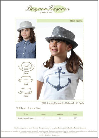 Hedy Fedora for Kids