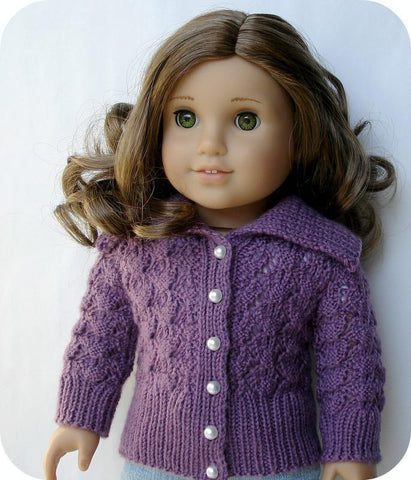 Helena Lace Cardigan Knitting Pattern