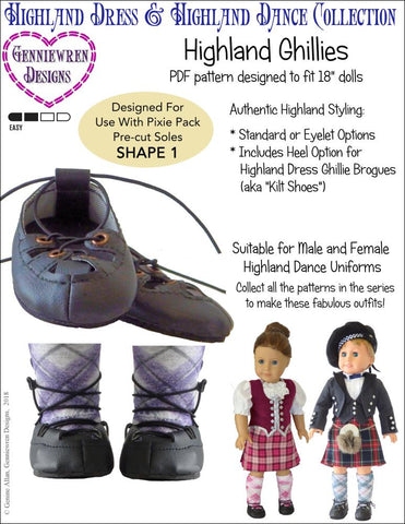 graphic relating to 18 Inch Doll Shoe Patterns Free Printable named 18 Inch Doll Swim Dance Designs Pixie Faire