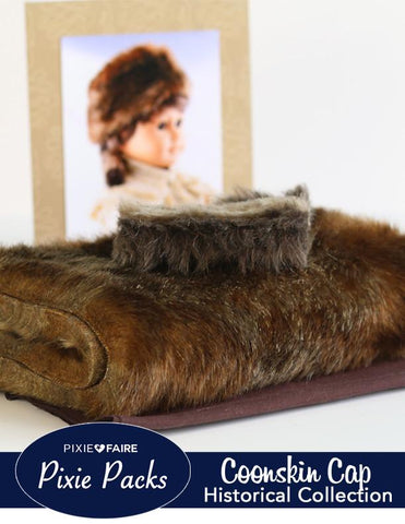 Pixie Packs Coonskin Cap Historical Collection