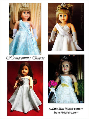 "Homecoming Queen 18"" Doll Clothes"