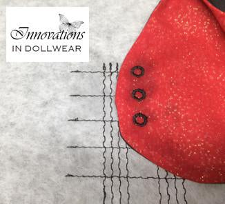 Beautiful Buttonholes! Eyelets Machine Embroidery Design