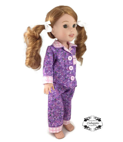 Pajama Party 14.5 Inch Doll Clothes Pattern