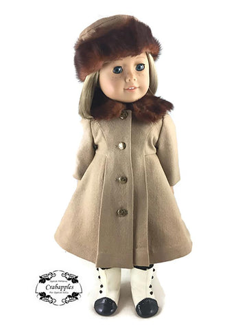 "Classic Hats 18"" Doll Clothes Pattern"