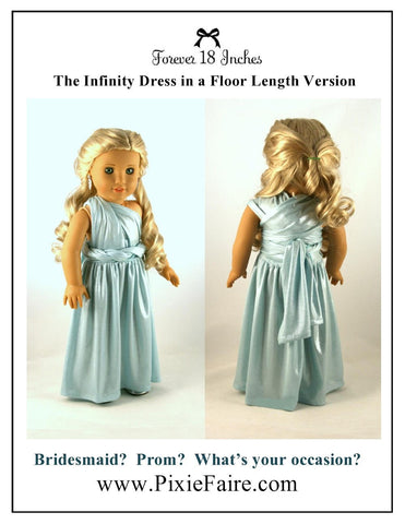 "Infinity Dress 18"" Doll Clothes"