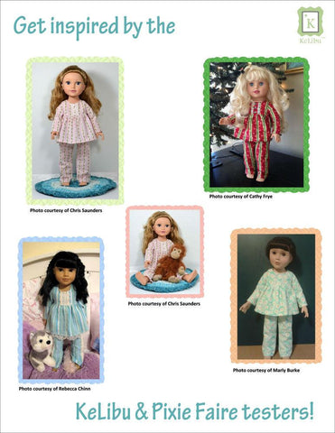 Winter & Summer PJ's for Journey Girls Dolls