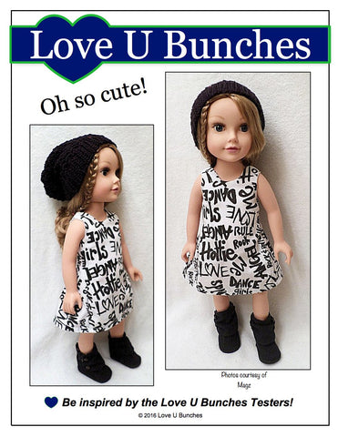 Polka Dot Party Dress for Journey Girls Dolls