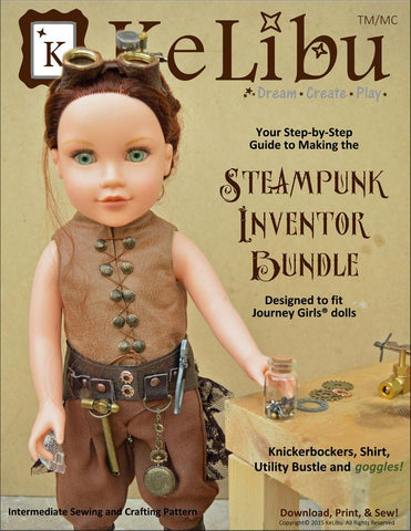 Steampunk Inventor Bundle for Journey Girls Dolls
