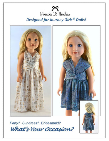 Infinity Dress Pattern for Journey Girls Dolls