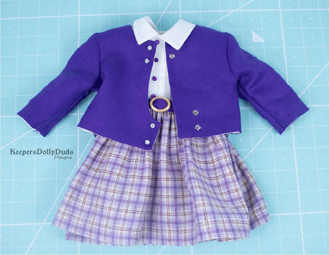 "May Day Parade 18"" Doll Clothes Pattern"