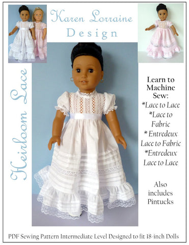 18 inch Doll Clothes Patterns for Dolls Such As American