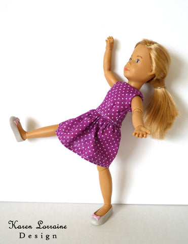 "Melrose Dress for 9"" Kruselings Dolls"