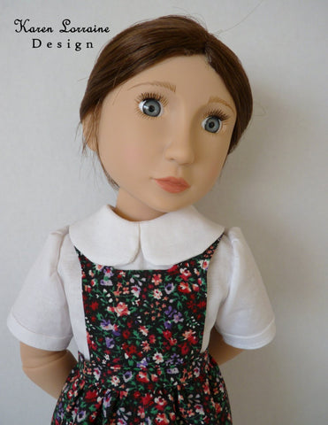 "Tyrol 16"" Doll Clothes Pattern For A Girl For All Time Dolls"