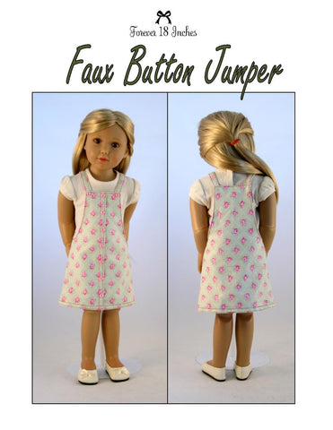 Faux Button Jumper for Kidz N Cats Dolls