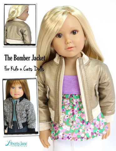 Bomber Jacket  For Kidz N Cats Dolls