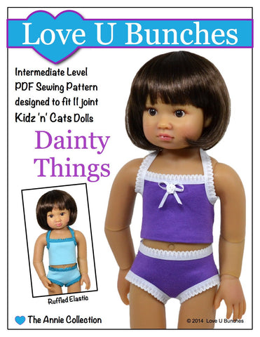 Dainty Things Pattern for Kidz 'n' Cats Dolls