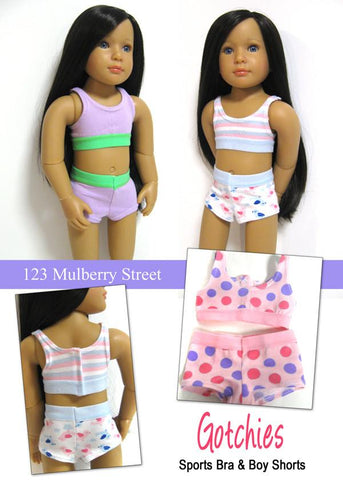 123 Mulberry Street Kidz n Cats Gotchies Pattern for Kidz N Cats Dolls Pixie Faire