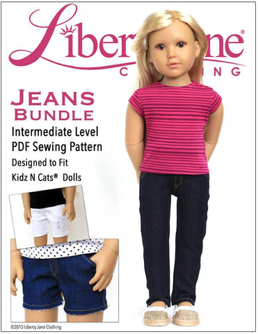 Jeans Bundle for Kidz N Cats Dolls