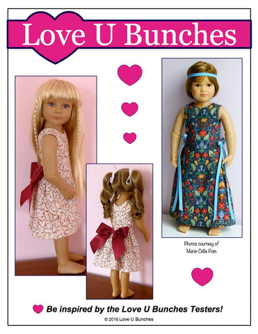 Polka Dot Party Dress for Kidz N Cats Dolls
