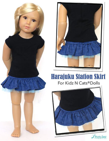 Harajuku Station Skirt Kidz N Cats Dolls