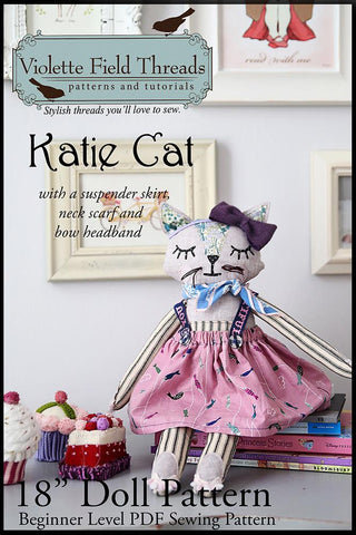 "Katie Cat 18"" Animal Doll"