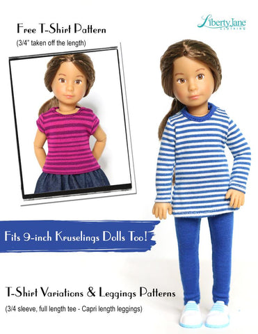 "FREE T-Shirt For 11-1/2"" Fashion Dolls"